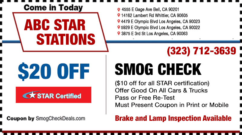 But I recently went to 4 Less Smog Check on Broadway