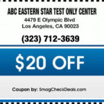 ABC EASTERN STAR TEST ONLY CENTER