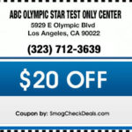 ABC OLYMPIC STAR TEST ONLY CENTER